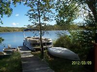 3 BDR LAKE FRONT CABIN ON LEASED DBL LOT
