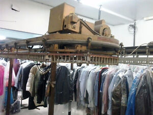 Commercial Garment Conveyor for Dry Cleaning Facility