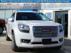 2016 GMC Acadia Denali  - Navigation -  Sunroof - $282.02 B/W