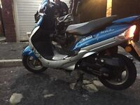 50cc scooter moped fully working great bike mot
