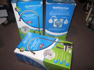 Austin Springs AS-DW-UC-CHR Undercounter Water Filter with Premi