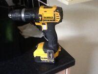Dewalt 14.4v Lithium cordless hammer drill