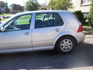 2001 tdi  vw golf  for parts