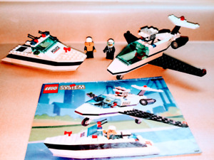 Lego 6344 Jet Speed Justice, complete set, from 1993, 158 pieces