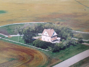 1800 sq ft on 1 acre 12 miles from Yorkton