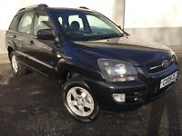 2009 09 Kia Sportage 2.0CRDi 4WD XE 5 DOOR IN BLACK ONLY 63000 MILES