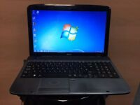 Acer Quick Laptop (Kodi) 160GB, 2GB Ram, Windows 7, Microsoft office, Good Condition