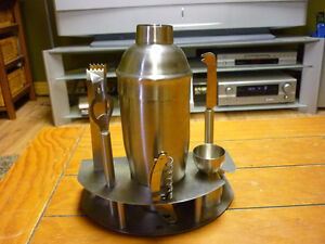 Stainless Steal Drink Mixer Set