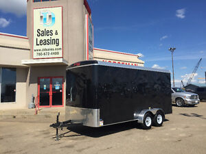 2016 TNT 16ft Enclosed Trailer w/Extended Height $7999 Edmonton Edmonton Area image 1