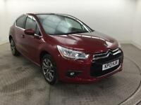 2013 Citroen DS4 HDI DSTYLE Diesel red Manual