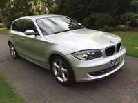 2009 59 PLATE BMW 116i SPORT 5 DR HATCH - 61,000 GENUINE MILES