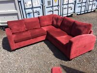 Stunning corner sofa and extra 3 seater excellent condition clean house can deliver