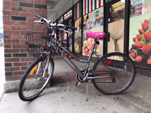 No.6: Famous quite new Infinity city bike with front basket