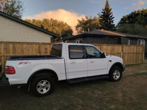 2002 Ford F-150 SuperCrew FX4..Trade for Classic!