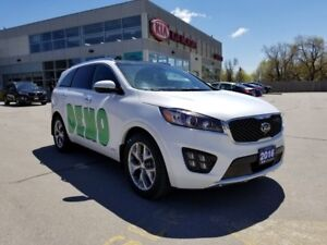 2016 Kia Sorento SX DEMO | AWD | NAVI | LEATHER | V6