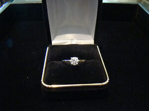 .61 ct 18k White Gold Diamond Solitarie Engagement Ring