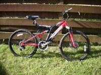 Boy's mountain bike.
