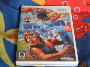 Wii  Wipeout game