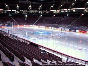 2 tickets Canucks vs Oilers Lower Bowl Row 7 - Sep 30