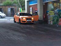 Audi s3 in solar orange