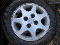 Nissan 240 sx rime and tires