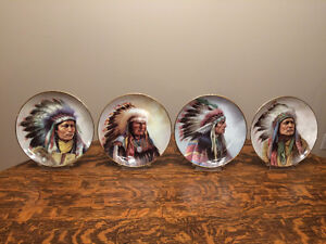 Council of Indian Nations - Complete set of 8 plates