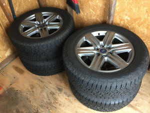 New Ford F-150 Rims and Rubber