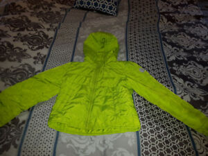 Kids Winter Jacket The Gap Size 10 Lime Green