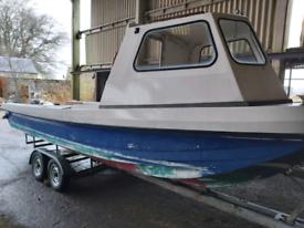 Wilson Flyer 23ft Boat & Twin Axle Trailer