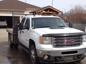 2012 GMC Sierra 3500 HD Duramax, flat deck dully
