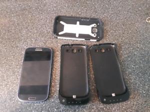 Samsung Galaxy s3 +protecteur+2 chargeurs sans fil