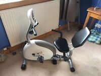 V fit recumbent exercise bike