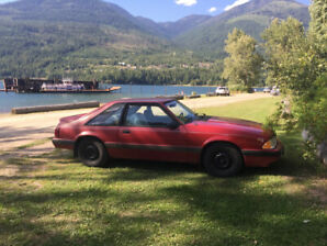 Mustang LX 1989, great condition.