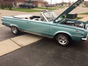 MUST SELL!RARE!1966 PLYMOUTH VALIANT CONV /US DODGE DART $19000