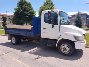 2007 Hino 185 dump truck