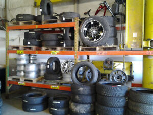 USED TIRES /  RIMS FROM  $25  14-15-16-17-18-19 INCH