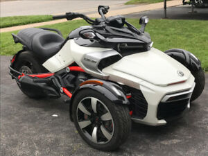 2015 Can-Am Spyder F3s SE6 with factory warranty