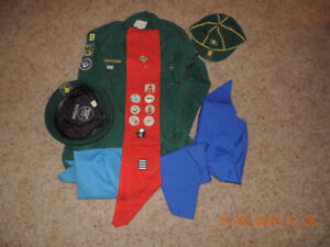 boy scout uniform from 1970