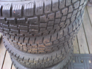 4 Winter Tires 195 60R 15