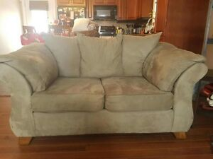 Sage color Sofa and Loveseat Set