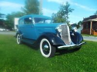 1934 PLYMOUTH SEDAN TRES RARE SPECIAL 15000.00 ferme firm