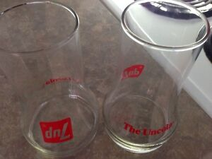 7up cola the uncola 70's glasses Gatineau Ottawa / Gatineau Area image 3
