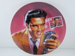 "Elvis Presley Plate ""The Rock & Roll Legend"" Plate No. 7415C"