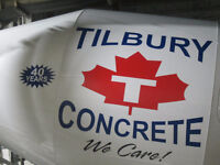 Tilbury Concrete Signs by Flag & Sign Depot