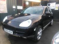 PORSCHE CAYENNE S 4.5 V8 Black Automatic Petrol 2006 (06)