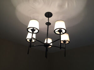 Dining Room Ceiling Light (with chain extension)