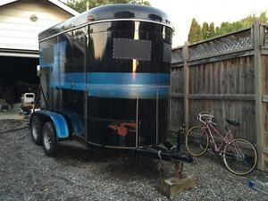 Mcbride horse ( cargo) trailer