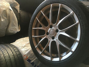 """17"""" MINI cooper s wheels and tires"""