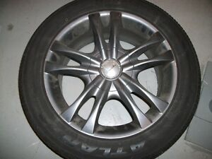 Alloy Rims 16 X 7 INCH WHEELS WITH TIRES  All Season Tires