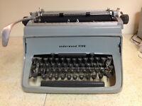 Underwood 5 Typewriter